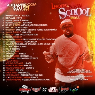 ALLFLAMERZ - LEADERS OF THE NEW SCHOOL BACK COVER