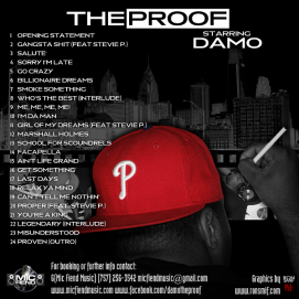 DAMO - THE PROOF BACK COVER