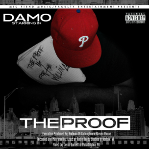 DAMO - THE PROOF FRONT COVER