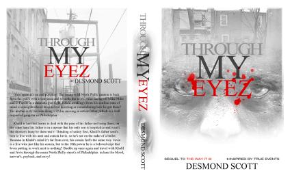 DESMOND SCOTT - THROUGH MY EYEZ BOOK COVER