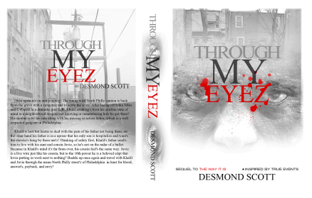 DESMOND SCOTT - THROUGH MY EYEZ BOOK COVER