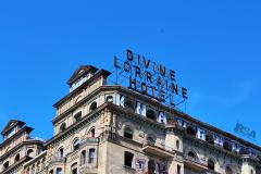 TOP OF DIVINE LORRAINE HOTEL
