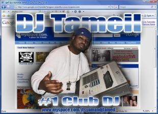 DJ TAMEIL MYSPACE PIC