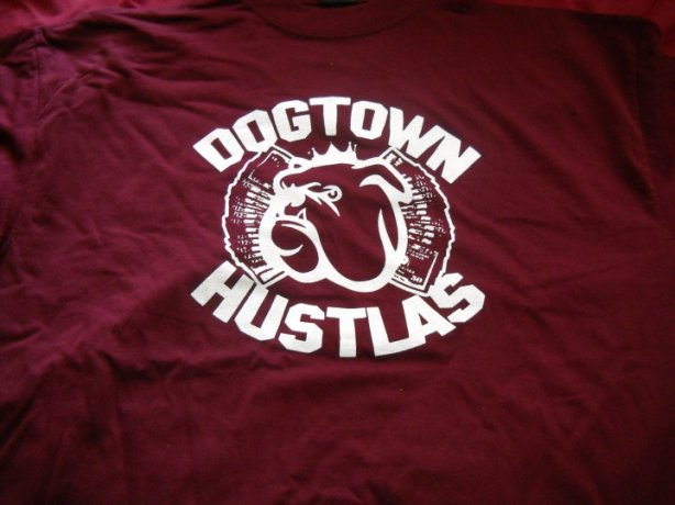 DOGTOWN HUSTLAS T-SHIRT