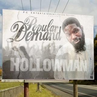 EA - HOLLOWMAN - POPULAR DEMAND ALTERNATE FRONT COVER