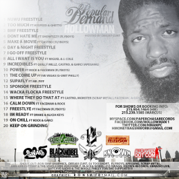EA - HOLLOWMAN - POPULAR DEMAND BACK COVER
