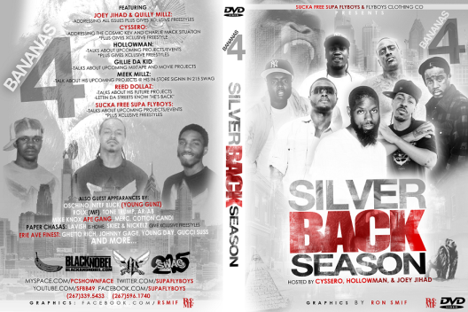 EA - SILVERBACK SEASON DVD COVER