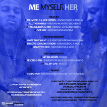 GROUNDHOG & MOD G - ME MYSELF & HER BACK COVER