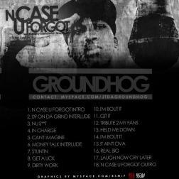 GROUNDHOG - N CASE U FORGOT BACK COVER