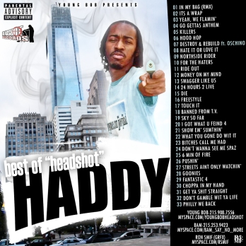 JOEY JIHAD - BEST OF HEADSHOT HADDY COVER