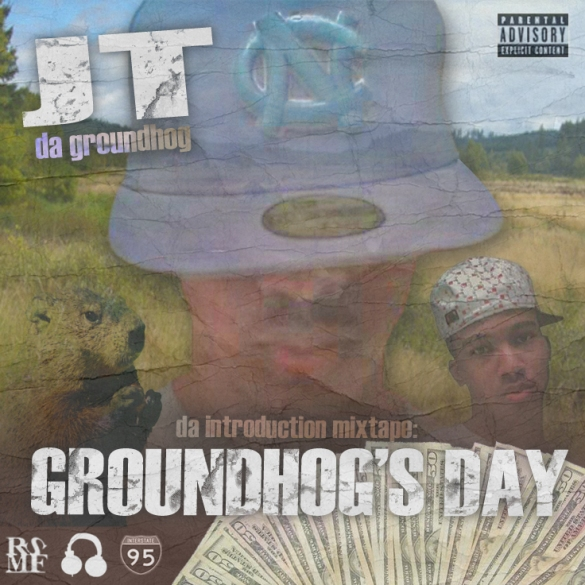 JT DA GROUNDHOG - GROUNDHOGS DAY COVER