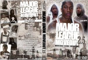 MAJOR LEAGUE MOVEOUT DVD COVER