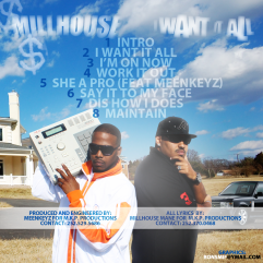 MILLHOUSE - I WANT IT ALL BACK COVER
