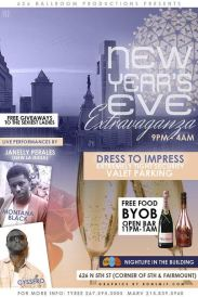 NEW YEARS EVE PARTY ALTERNATE FLYER BACK