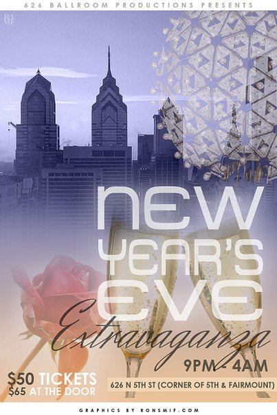 NEW YEARS EVE PARTY ALTERNATE FLYER FRONT