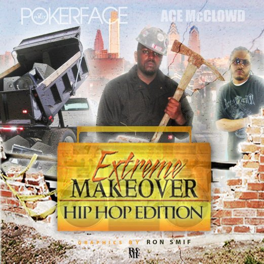 POKERFACE - EXTREME MAKEOVER FRONT COVER