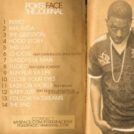 POKERFACE - JOURNAL BACK COVER