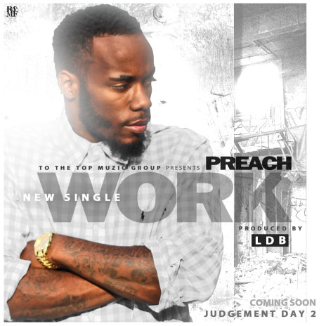 PREACH - WORK SINGLE COVER