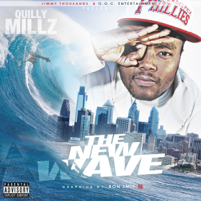 QUILLY MILLZ - THE NEW WAVE SAMPLE COVER