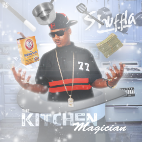SHUFFLA - THE KITCHEN MAGICIAN FRONT COVER