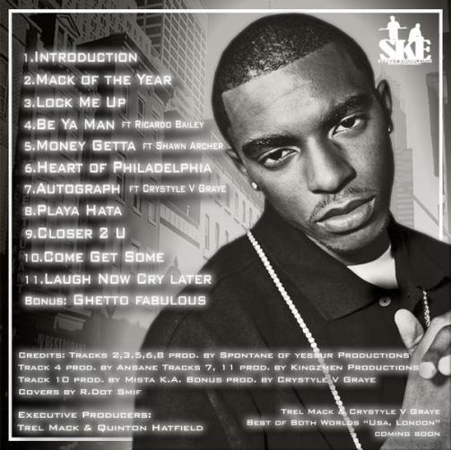 SKE - TREL MACK - MACK OF THE YEAR BACK COVER