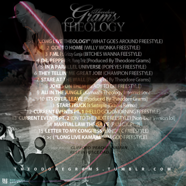 THEODORE GRAMS - THEOLOGY BACK COVER
