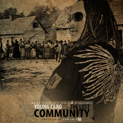 YOUNG CARO - THE LOST COMMUNITY COVER