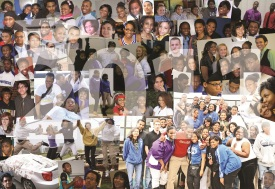 2011 COLLAGE BACKGROUND