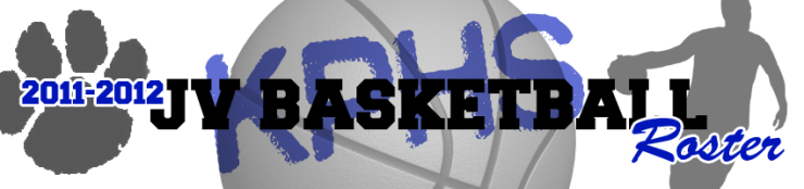 BASKETBALL - JV ROSTER HEADER