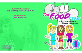 BOOK COVER - THE FOOD FIGHT - TAYLOR & BILLIE