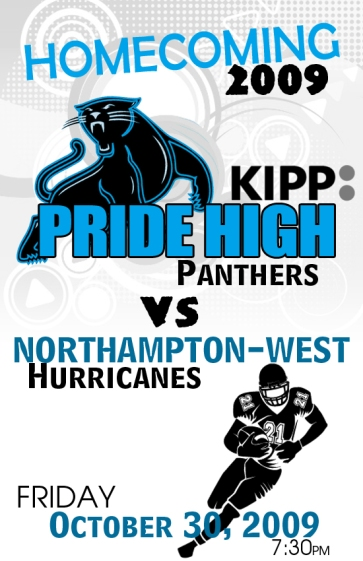 FOOTBALL - 2009 HOMECOMING GAME PAMPHLET COVER