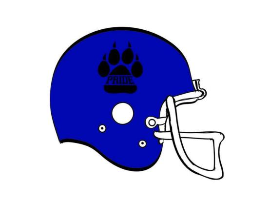 FOOTBALL HELMET DESIGN LAYOUT