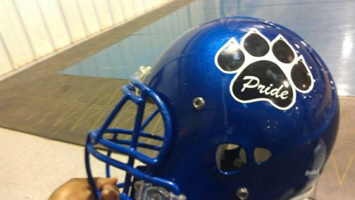 FOOTBALL - KPHS HELMET SAMPLE 2