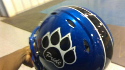 FOOTBALL - KPHS HELMET SAMPLE