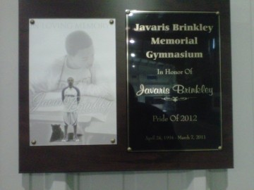 JAVARIS BRINKLEY MEMORIAL GYM DESIGN