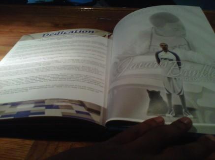 JAVARIS YEARBOOK PAGE