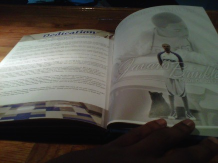 JAVARIS YEARBOOK PAGE