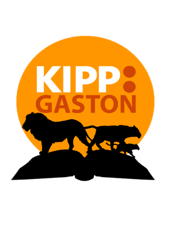 KIPP GASTON LOGO (WITH BOOK)