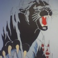 KIPP MURAL – PANTHER BEFORE COMPLETION(MADE2008)