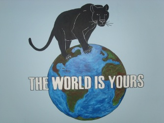 KIPP MURAL - THE WORLD IS YOURS (MADE 2008)