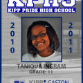 KPHS – SCHOOL ID –TANIQUA