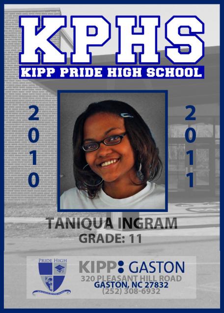 KPHS - SCHOOL ID - TANIQUA