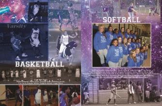 YEARBOOK PAGE - 2012 - BASKETBALL & SOFTBALL