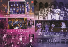 YEARBOOK PAGE - 2012 - GIRLS BBALL - JV BBALL