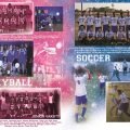 YEARBOOK PAGE – 2012 – VOLLEYBALL & SOCCER