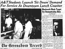 A&T/GREENSBORO FOUR (GREENSBORO SIT IN)