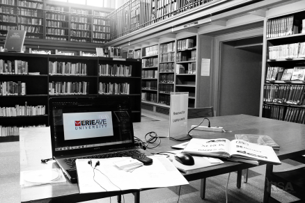 TABLE IN LIBRARY